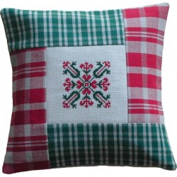 Mini coussin patchwork...
