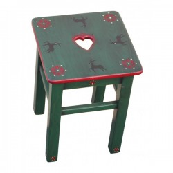 Tabouret decor Cerf