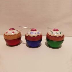 Set 3 boites à gâteaux mini Cup cake à suspendre