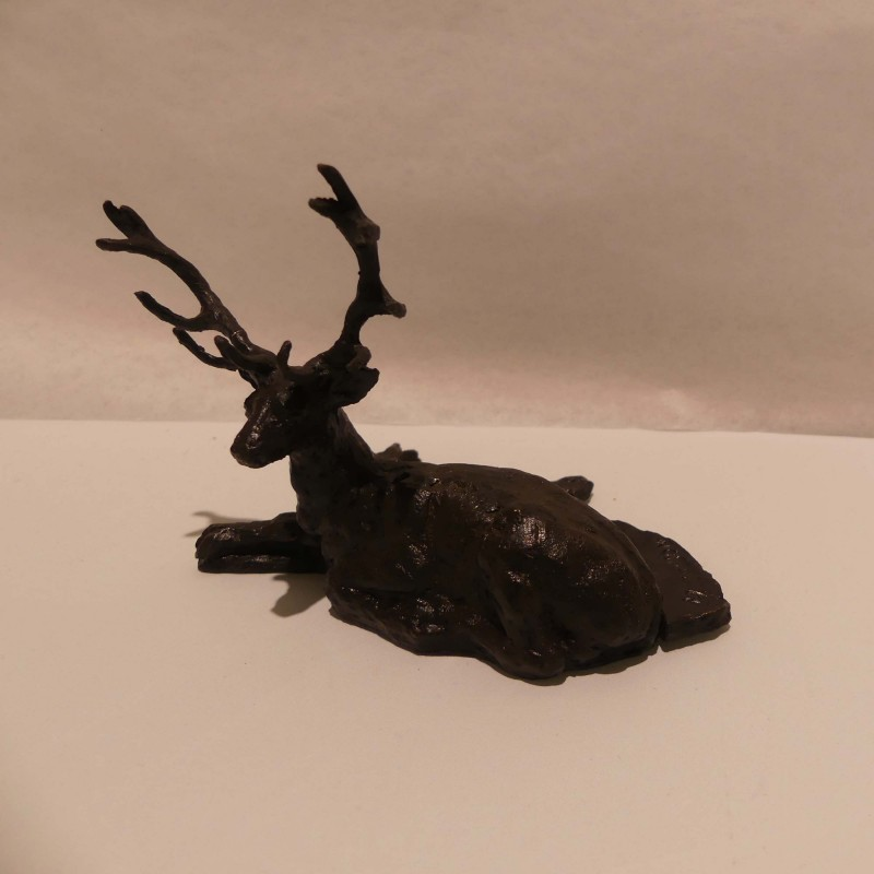 Cerf Bronze Marie Boisson