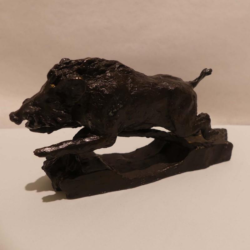 Sanglier Bronze Marie Boisson